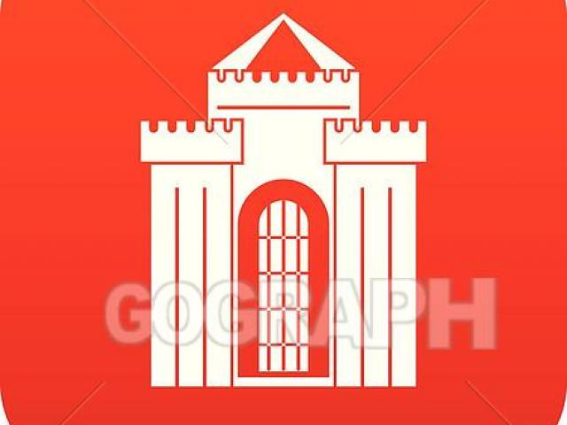 Palace clipart red castle. X free clip art