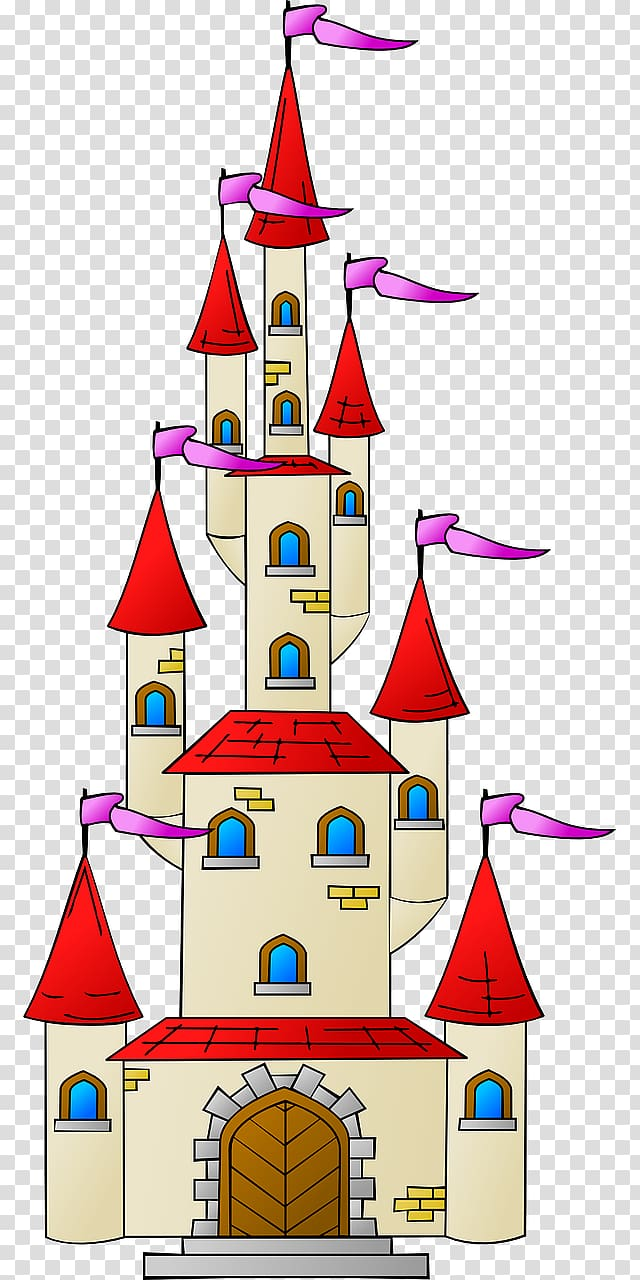 Palace clipart red castle. Transparent background png