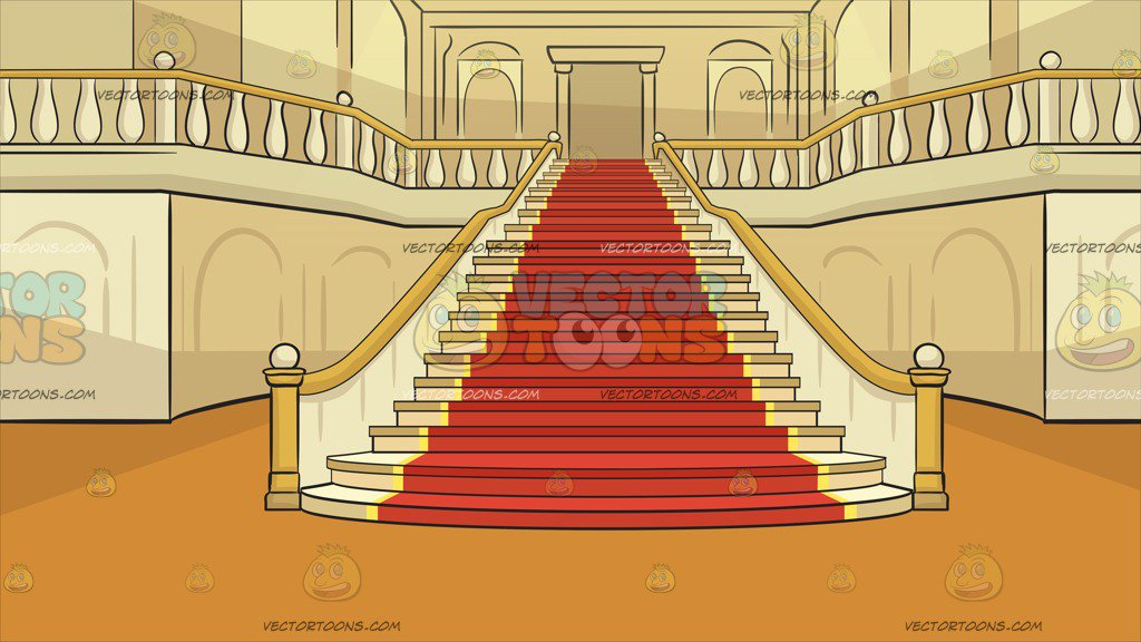 Free stairs download clip. Palace clipart staircase