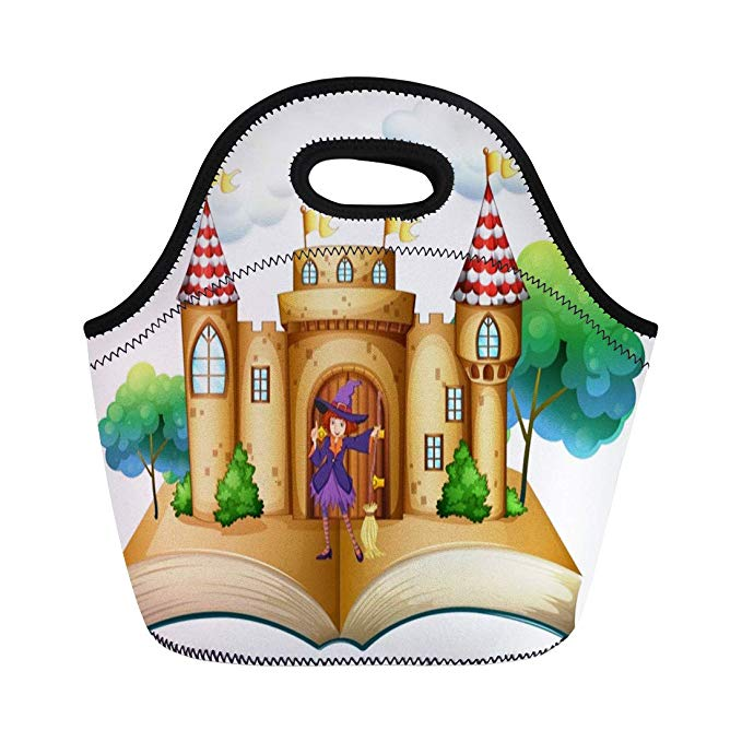 Amazon com tinmun lunch. Palace clipart storybook castle