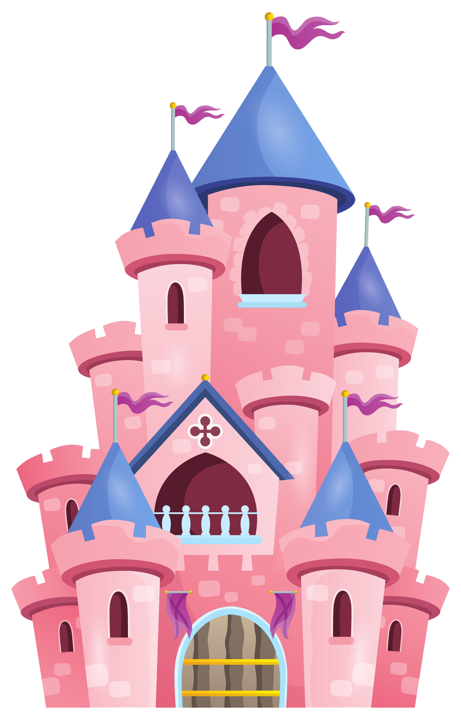 Palace clipart tall castle. Royalty free princess illustration