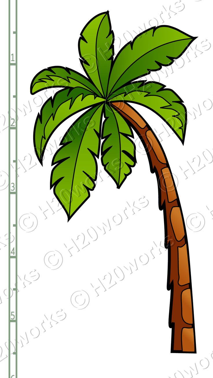 Palm clipart.  best tree clip