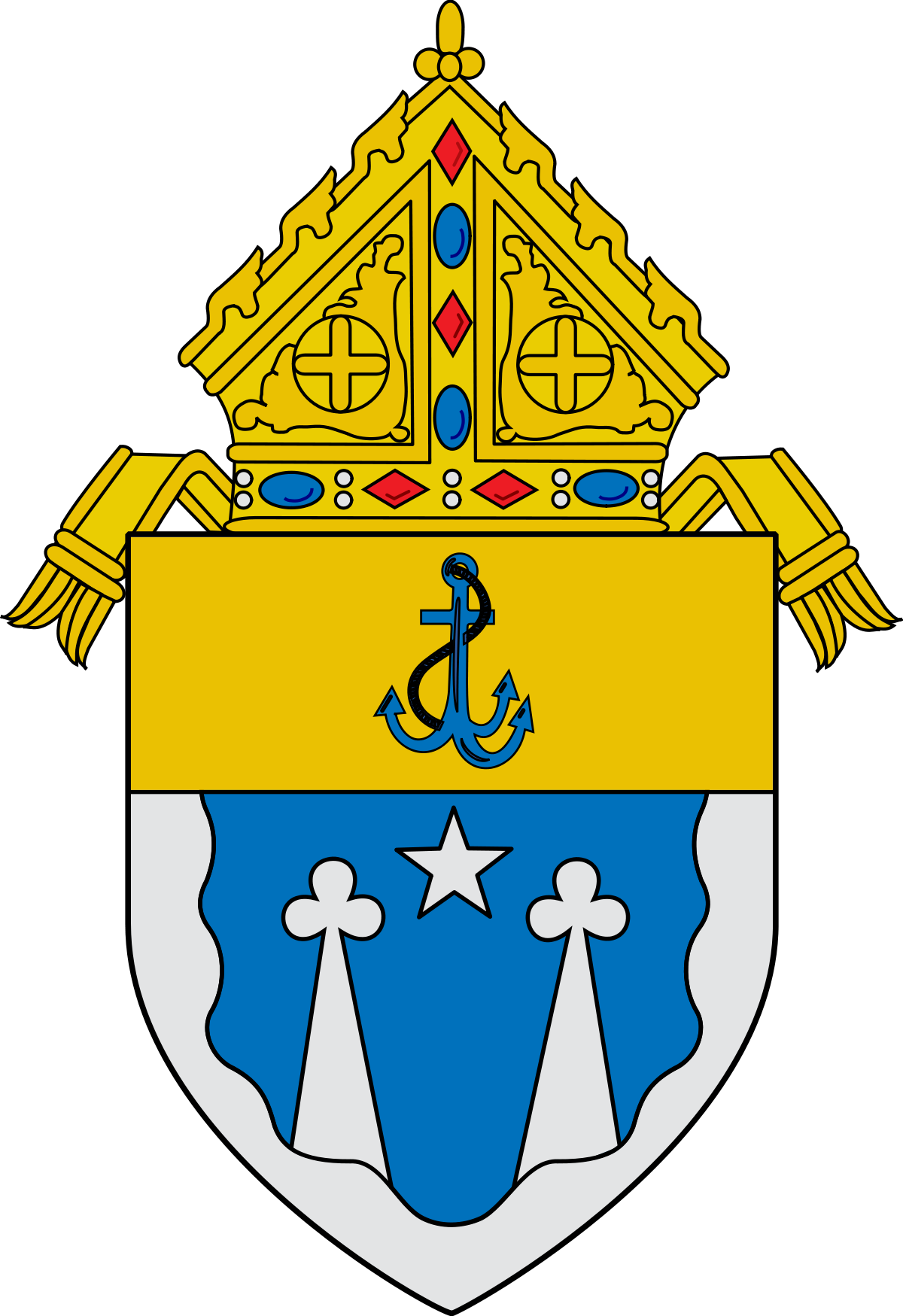 Roman diocese of el. Palm clipart catholic