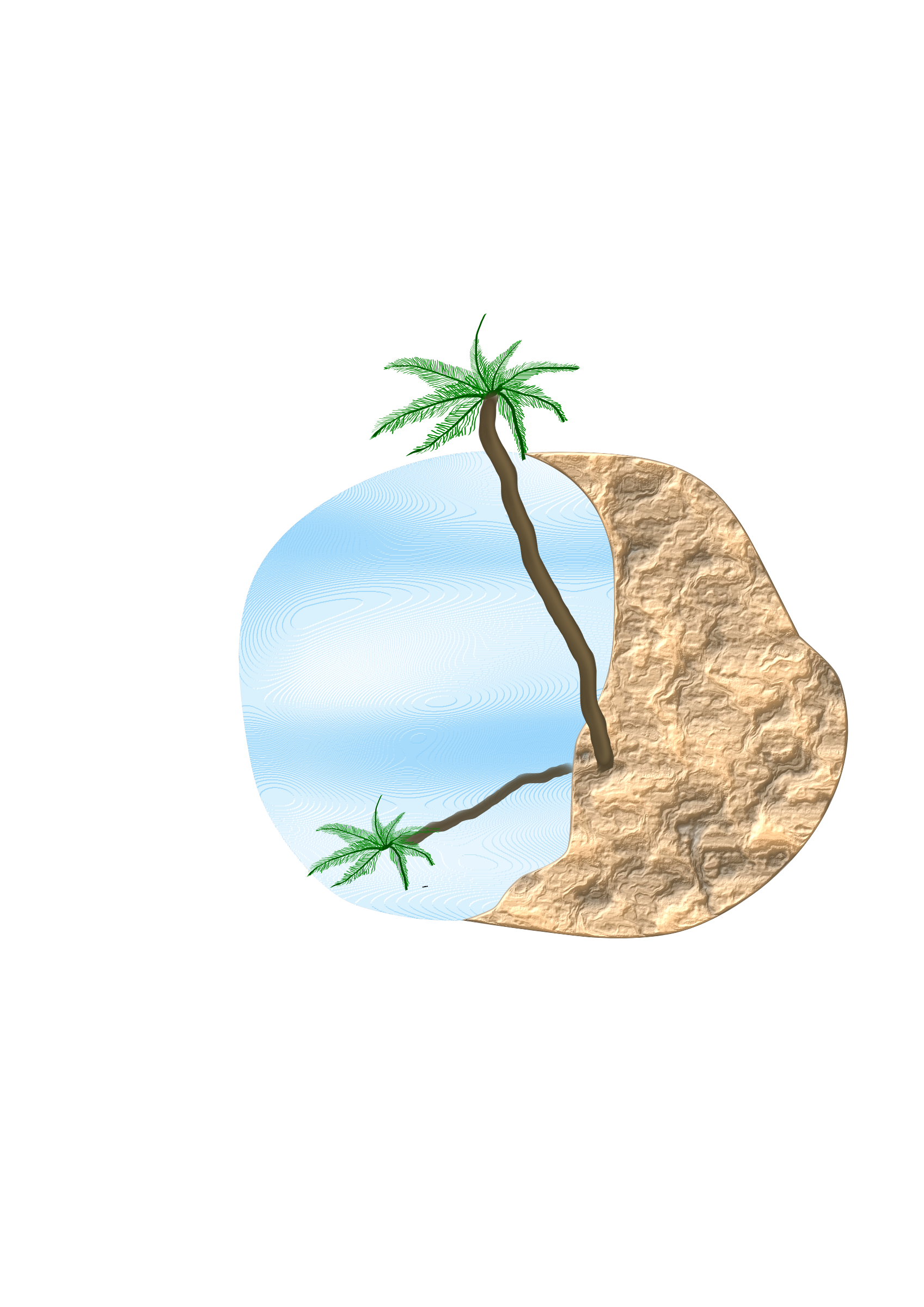 Palm clipart circle, Palm circle Transparent FREE for ...