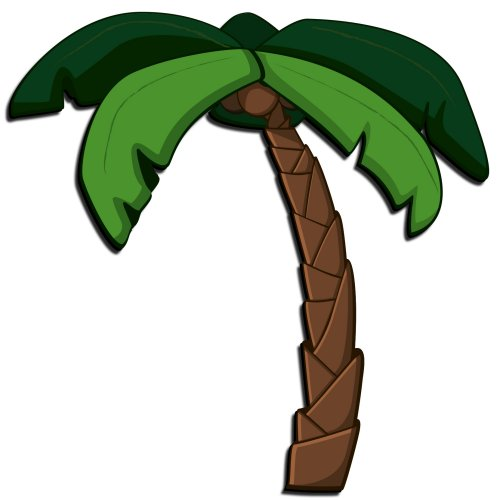Free images of cartoon. Palm clipart comic