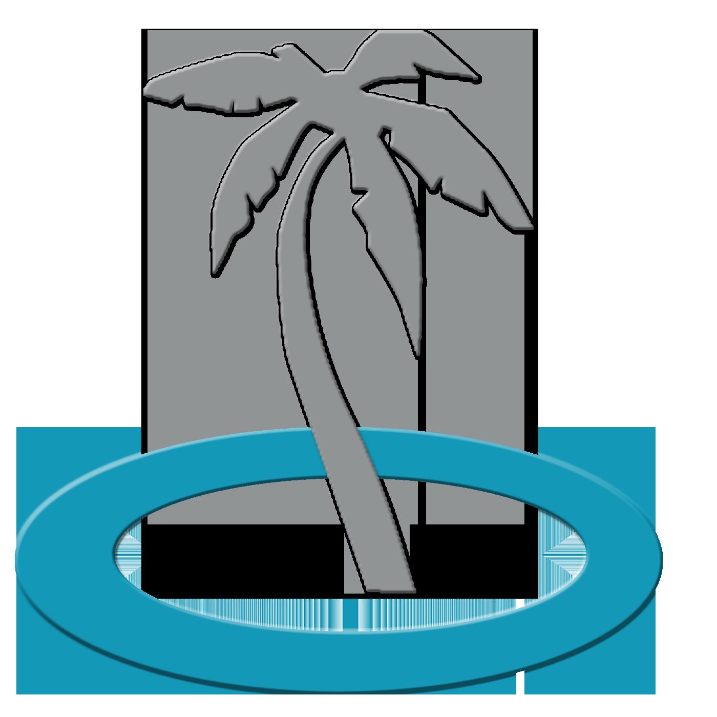 Palm clipart oasis. Logos easton logo