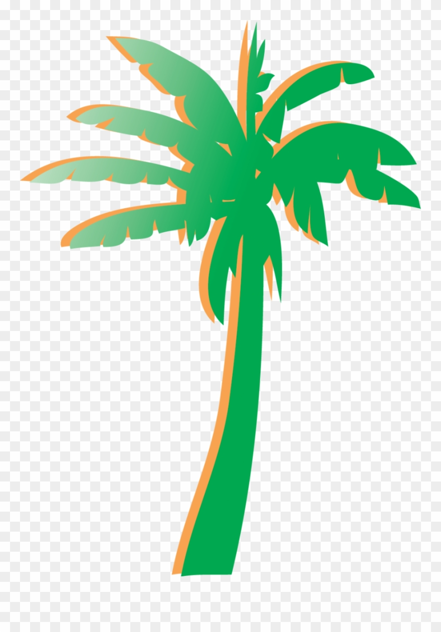 Palm clipart palm florida trees. Tree graphic png jpg