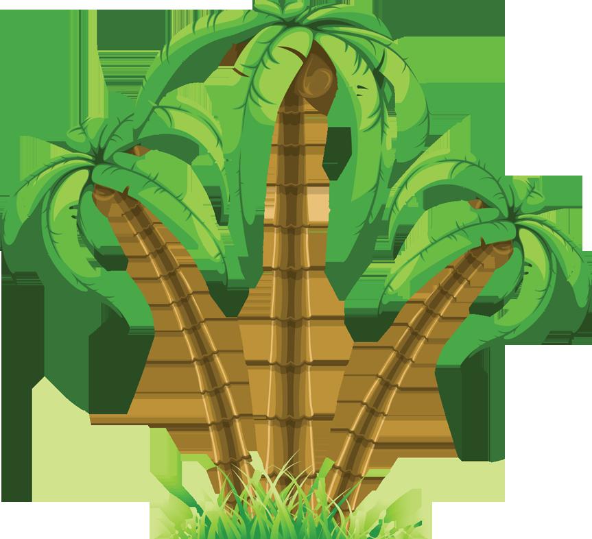 Palm clipart single. Dreams life n lesson
