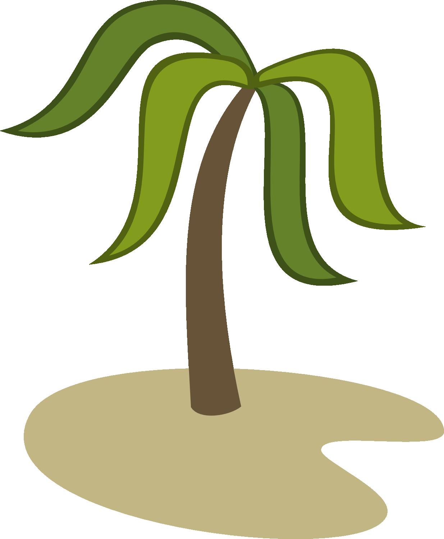 Island cutie mark by. Palm clipart stewardship sunday