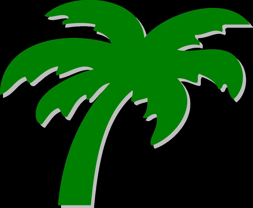 Tree clip art symbol. Palm clipart treesclip