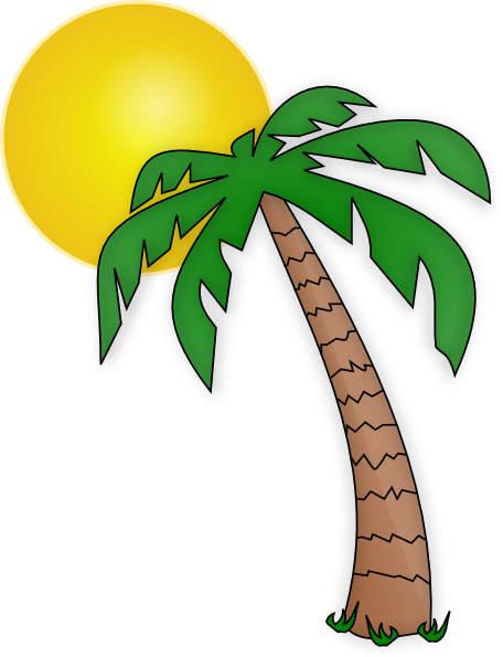 Tree art tropical trees. Palm clipart treesclip