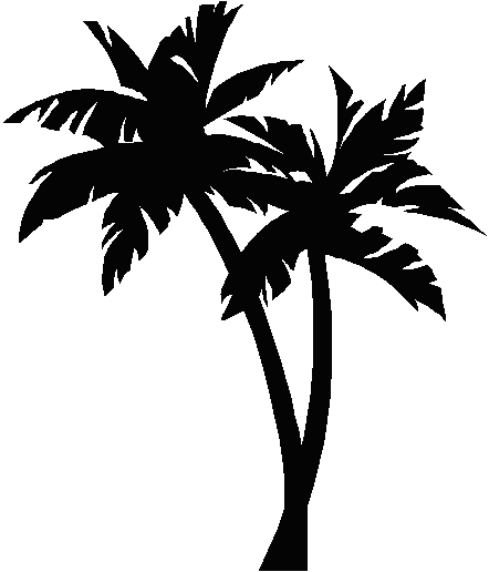 Palmtree tattoo image ink. Palm tree vector png