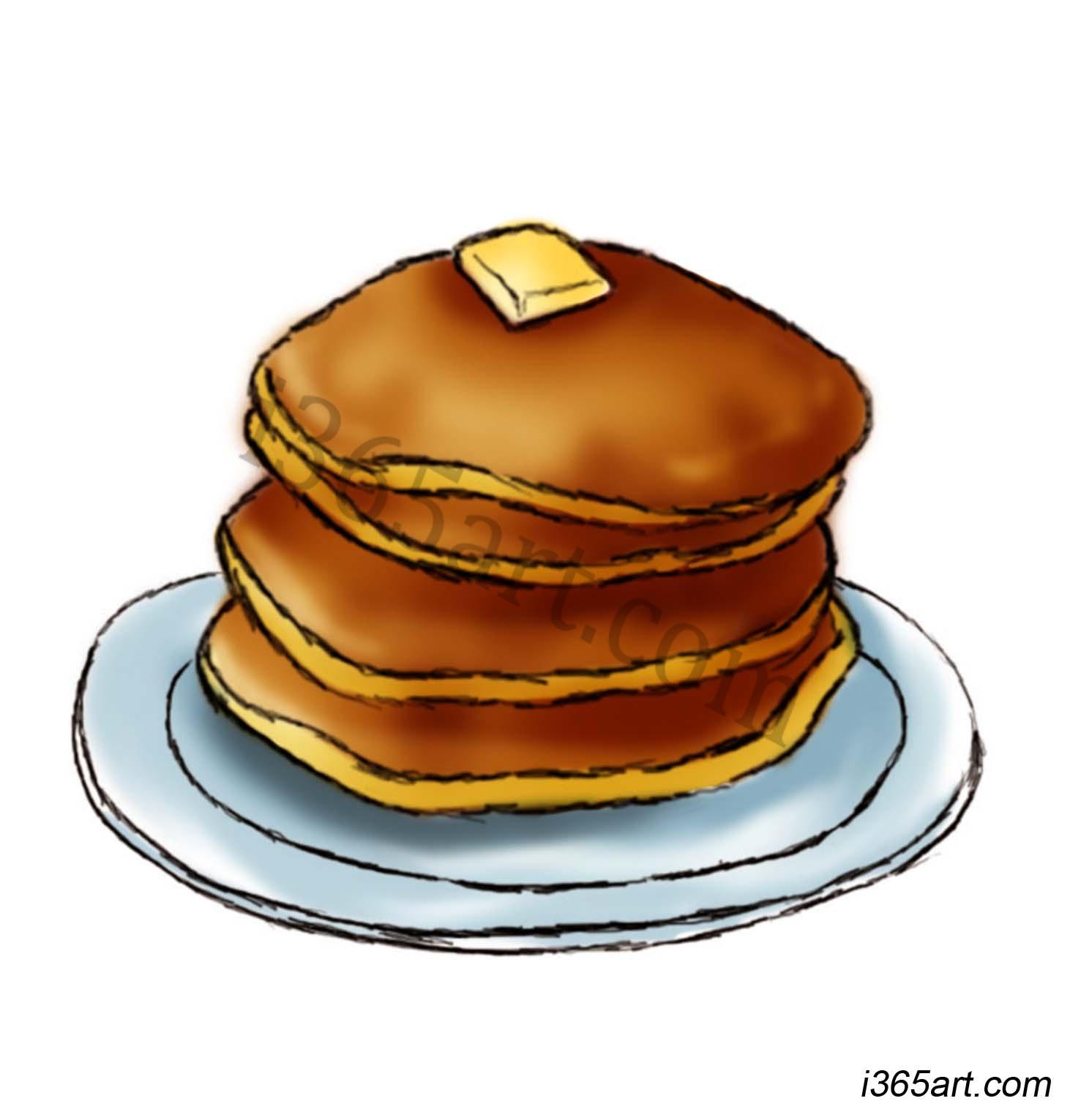 Flapjack . Pancake clipart