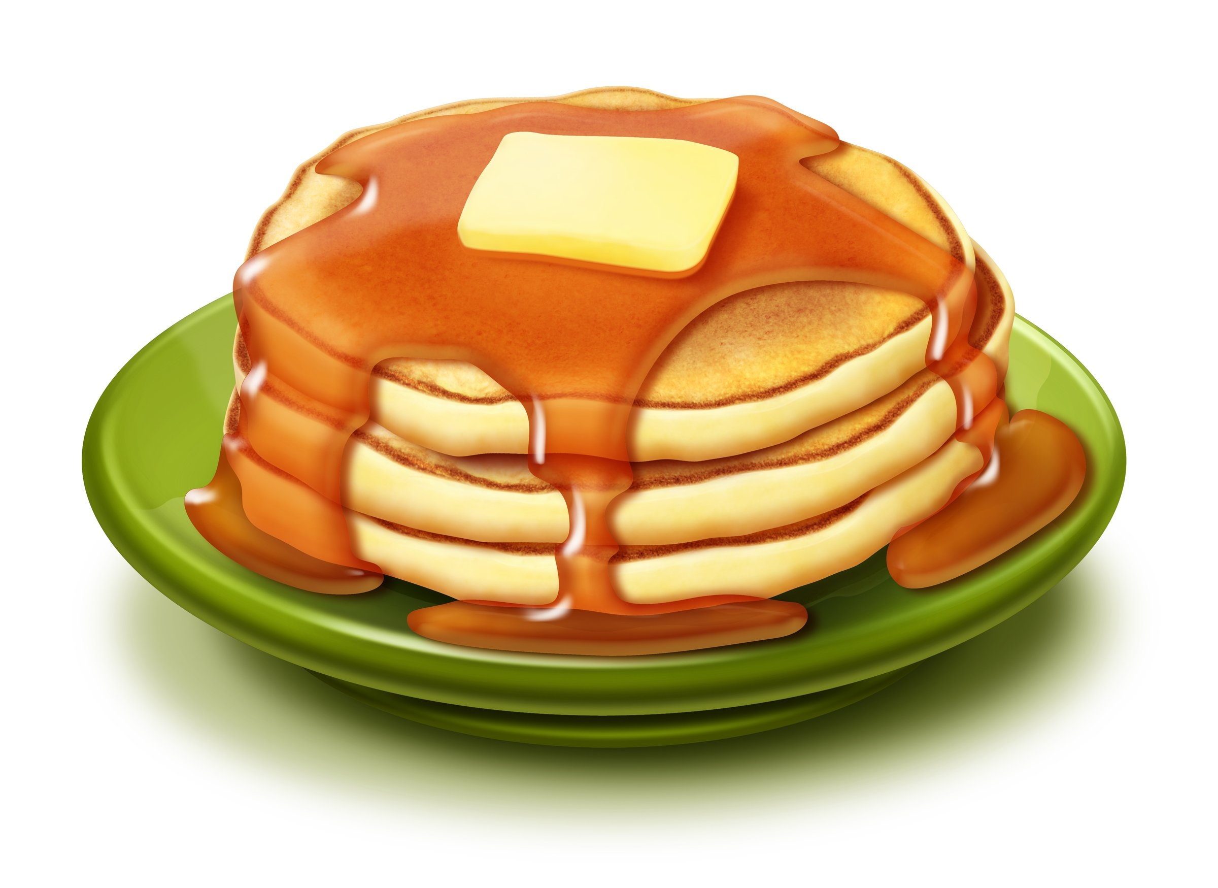 Awesome collection digital coloring. Pancake clipart