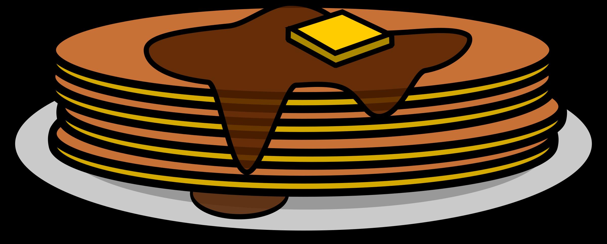 Pancakes image png. Pancake clipart big breakfast