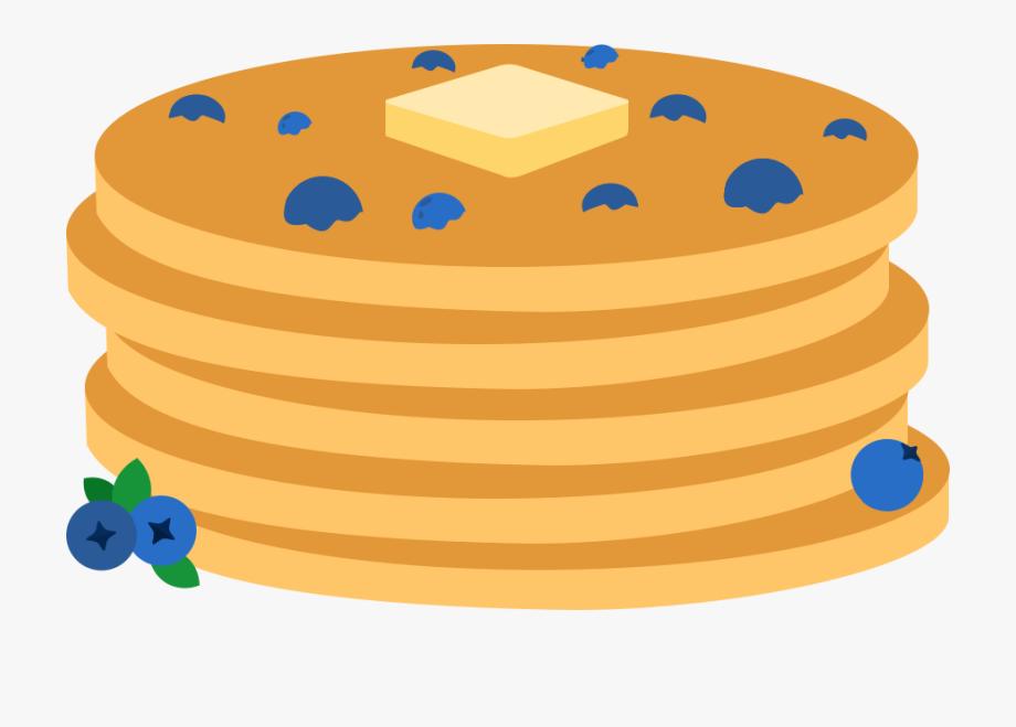 Pancakes clipart plain. Cook blueberry cliparts