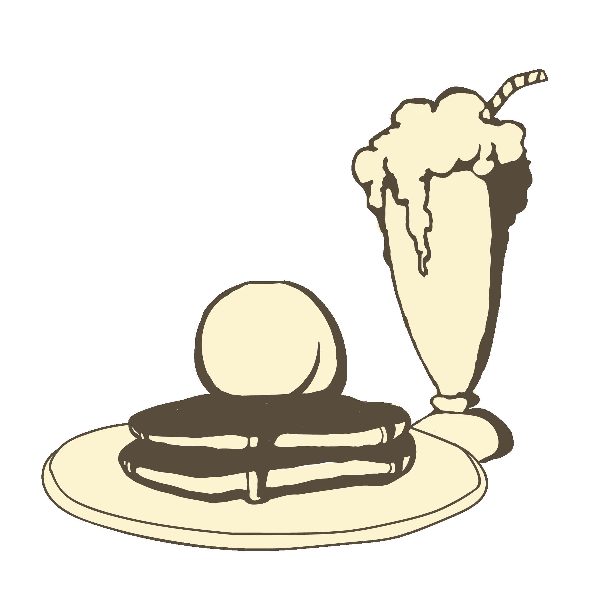 Pancake clipart full stack. Rewards the parlour get