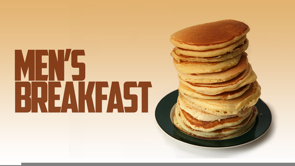 Mens free images at. Pancake clipart men's breakfast