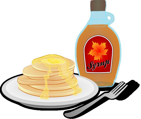 Pancake clipart breakfest. Breakfast clip art at