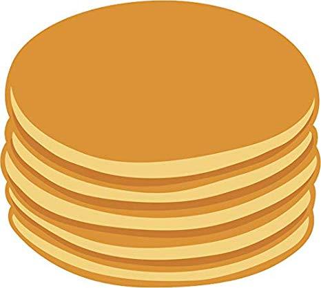 Pancakes clipart plain. Amazon com yummy delicious
