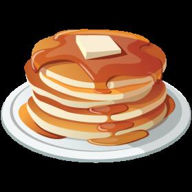 Pancakes clipart. Pancake png images transparent