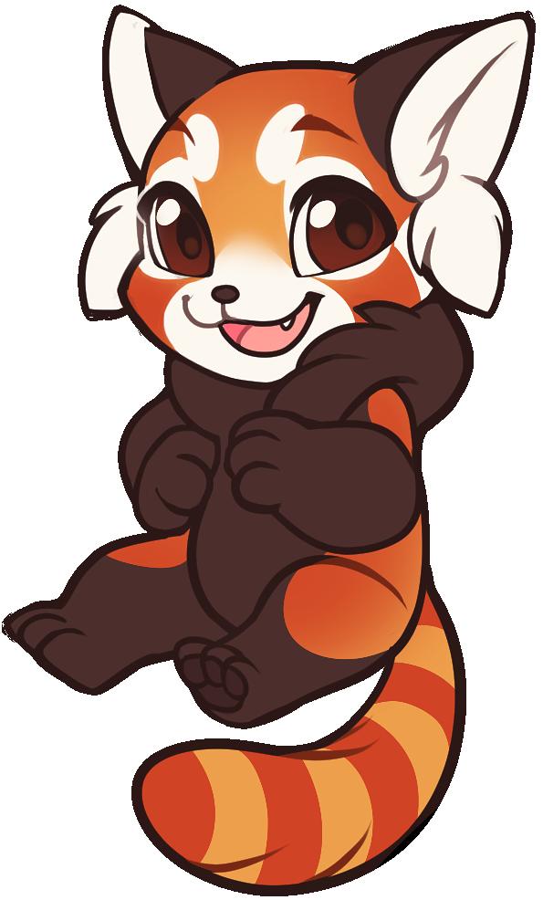 Panda clipart red panda, Panda red panda Transparent FREE ...