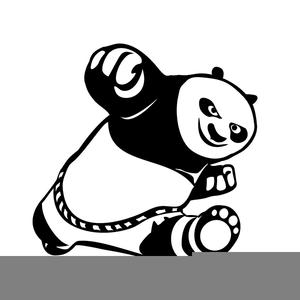 Panda clipart royalty free. Kung fu images at