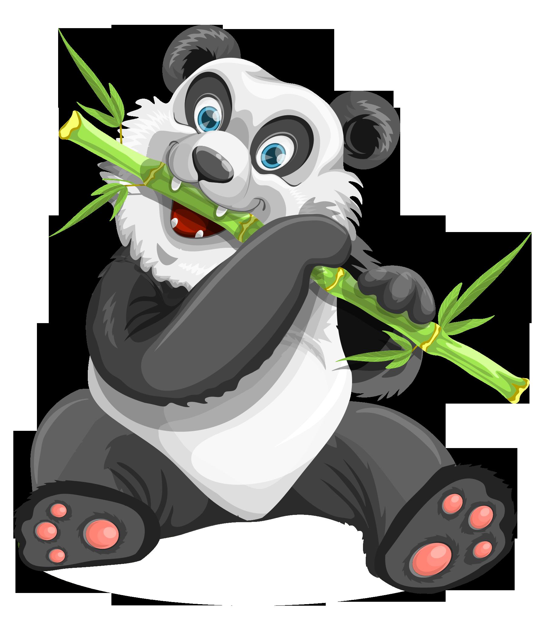 Png transparent image pngpix. Panda clipart vector