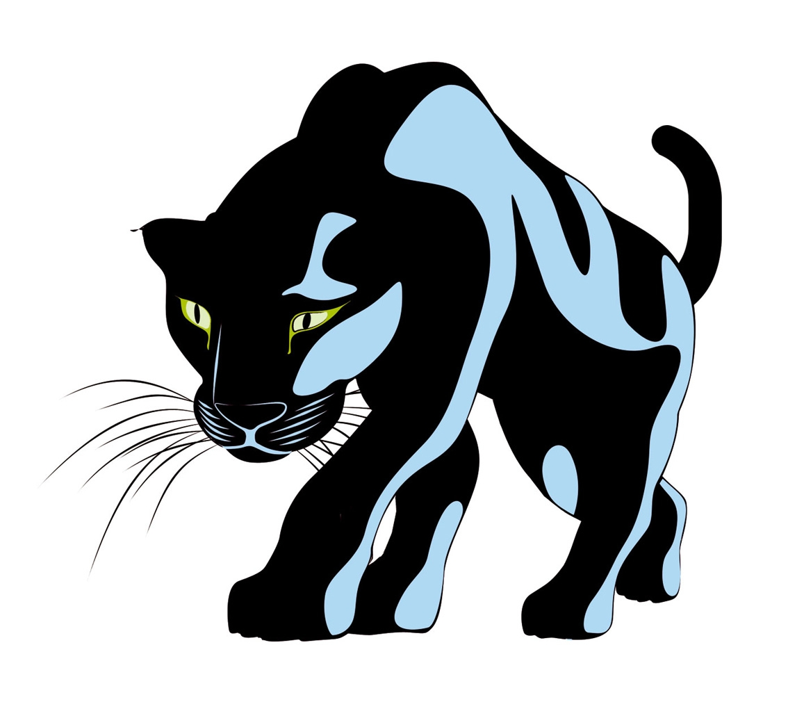 Panther clipart. Line drawing at getdrawings