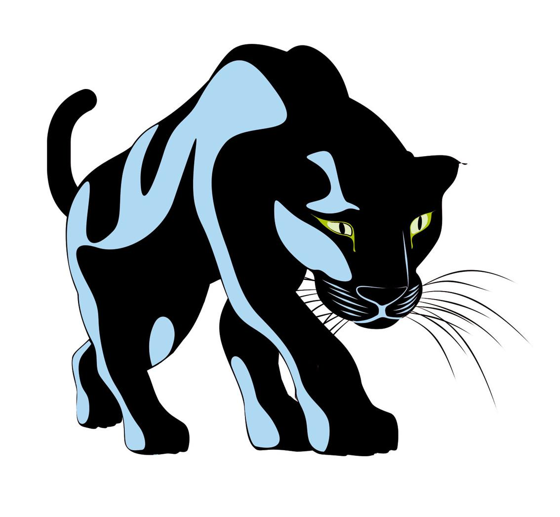 Panther clipart. Black chicago many interesting