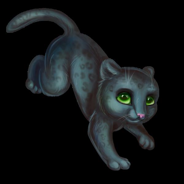 Panther clipart easy. Little black for lexenok