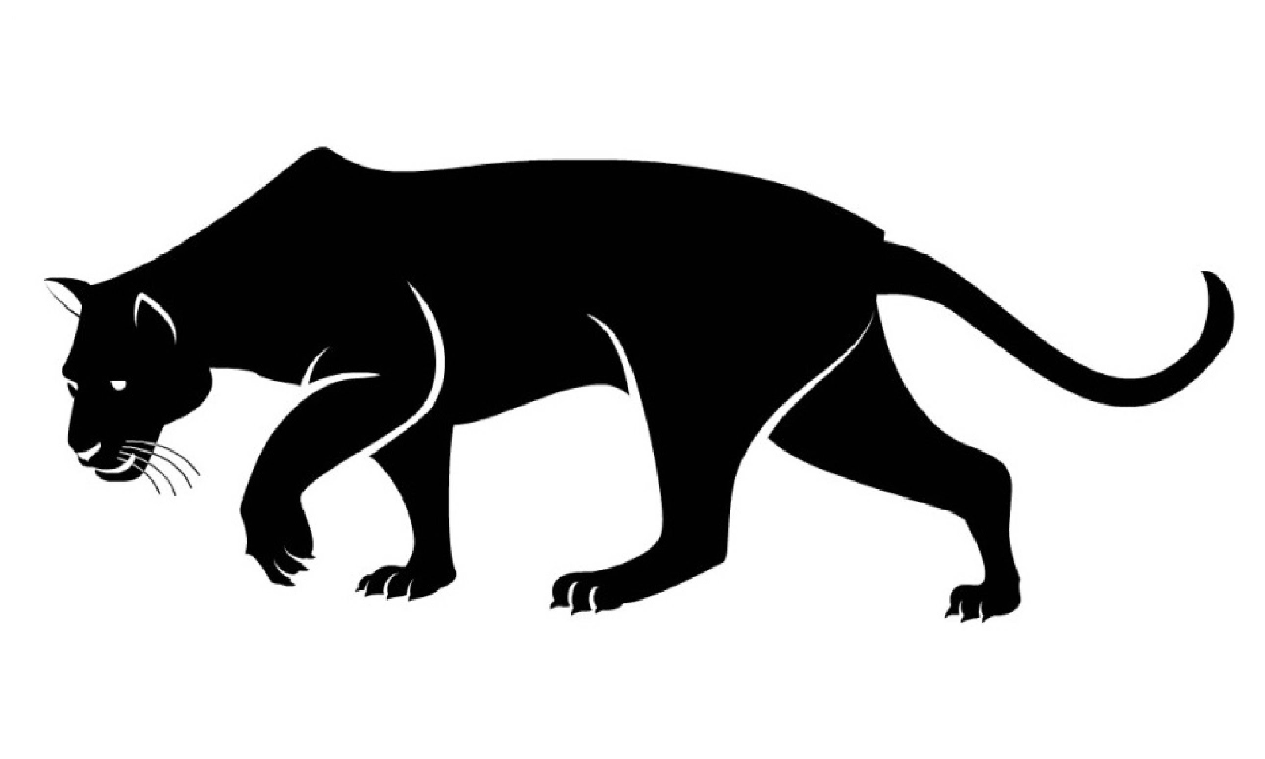 Panther clipart easy. Cute drawing free download