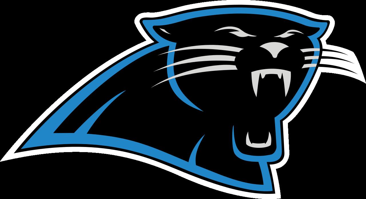 Carolina panthers logos keep. Panther clipart easy