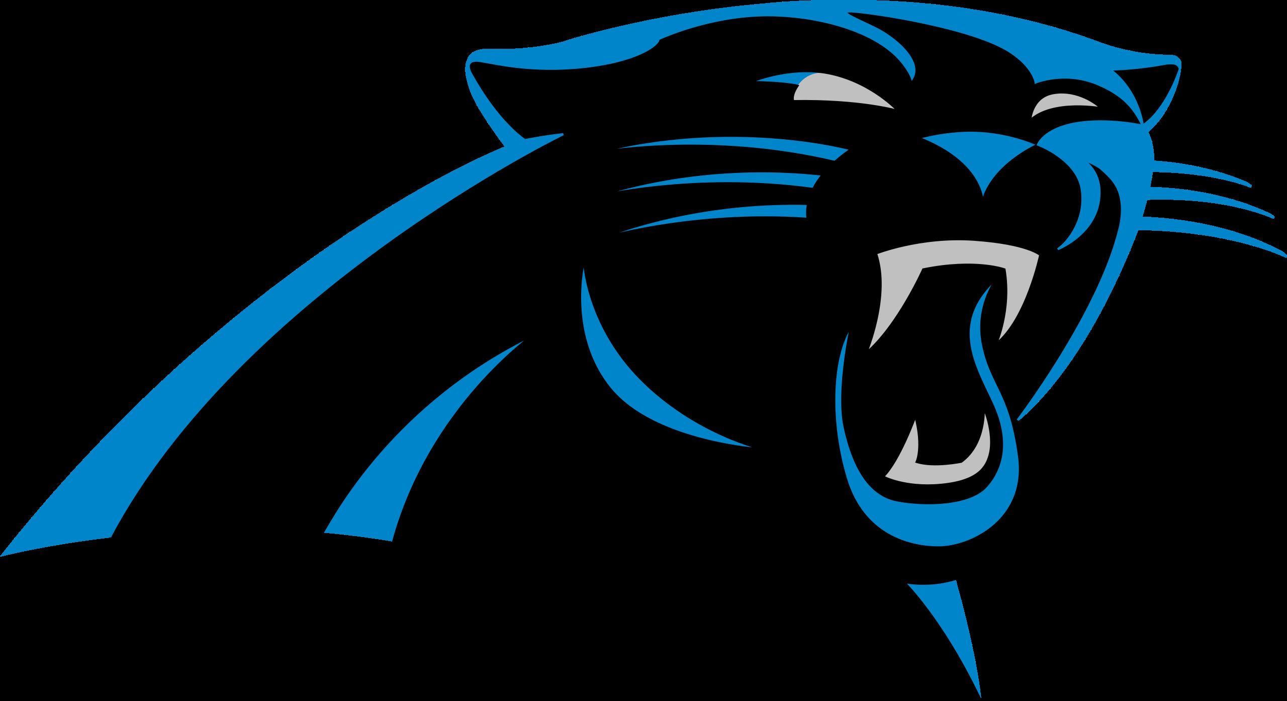 Image carolina panthers logo. Panther clipart nfl