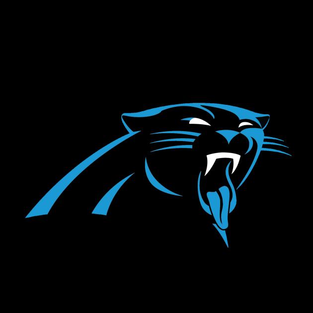 Panther clipart nfl. Carolina panthers logos pinterest
