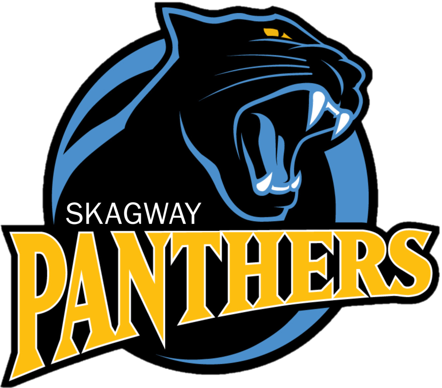 Panther clipart panther basketball. Home skagway school district