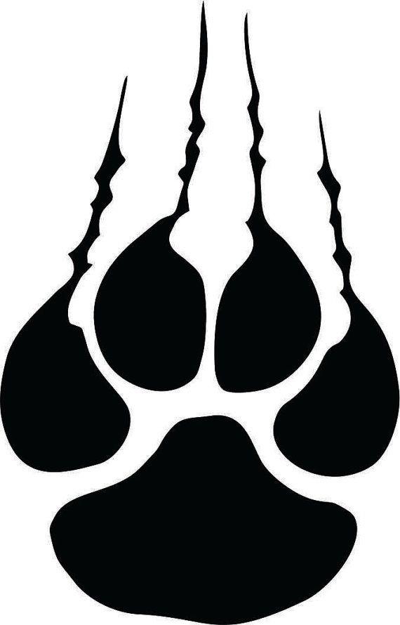 Pin by jennifer reed. Wildcat clipart tiger claw