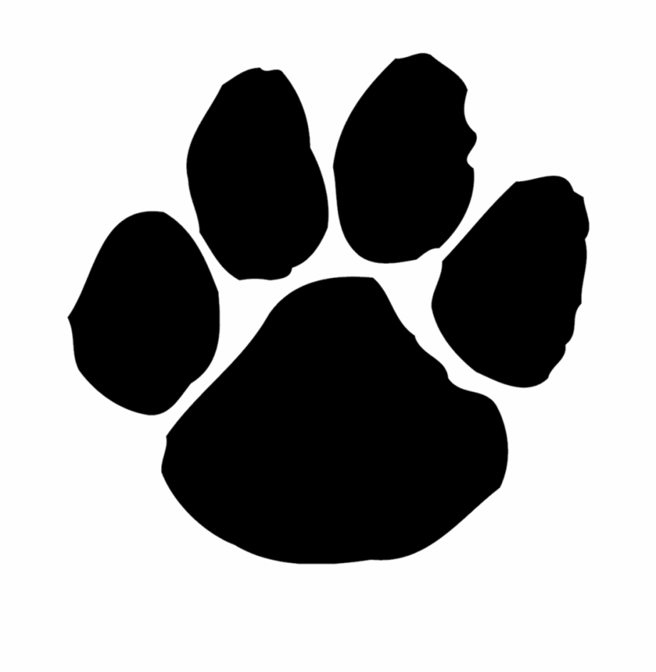Paws clipart panther. Southside panthers tiger paw