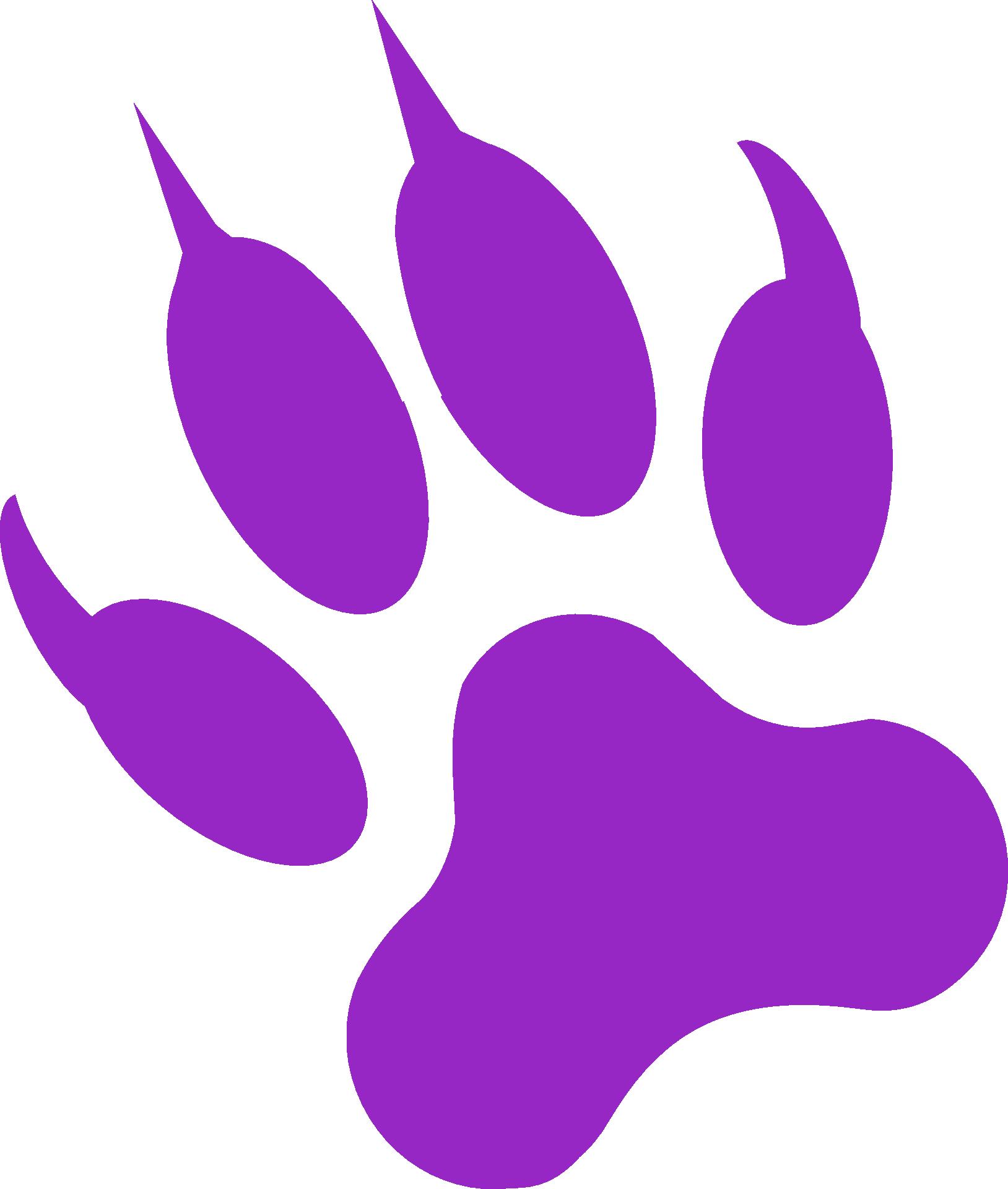 Paw clipart black panther. Gray wolf cougar panthera
