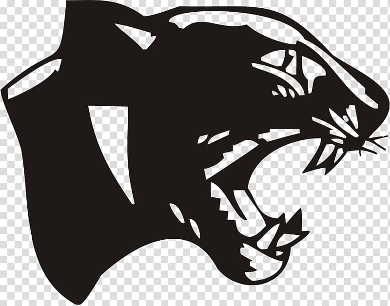 Panther clipart school. Cat derby high black