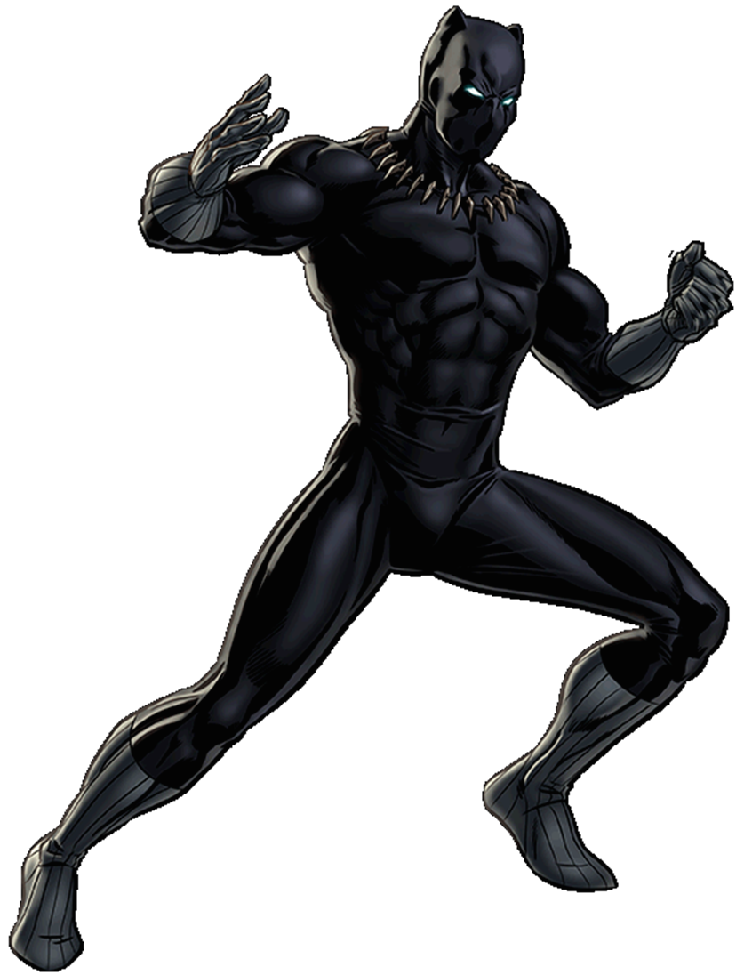 White clipart panther. Black wakanda marvel cinematic