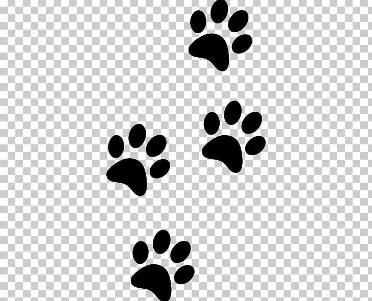 Labrador retriever cat paw. Panther clipart track