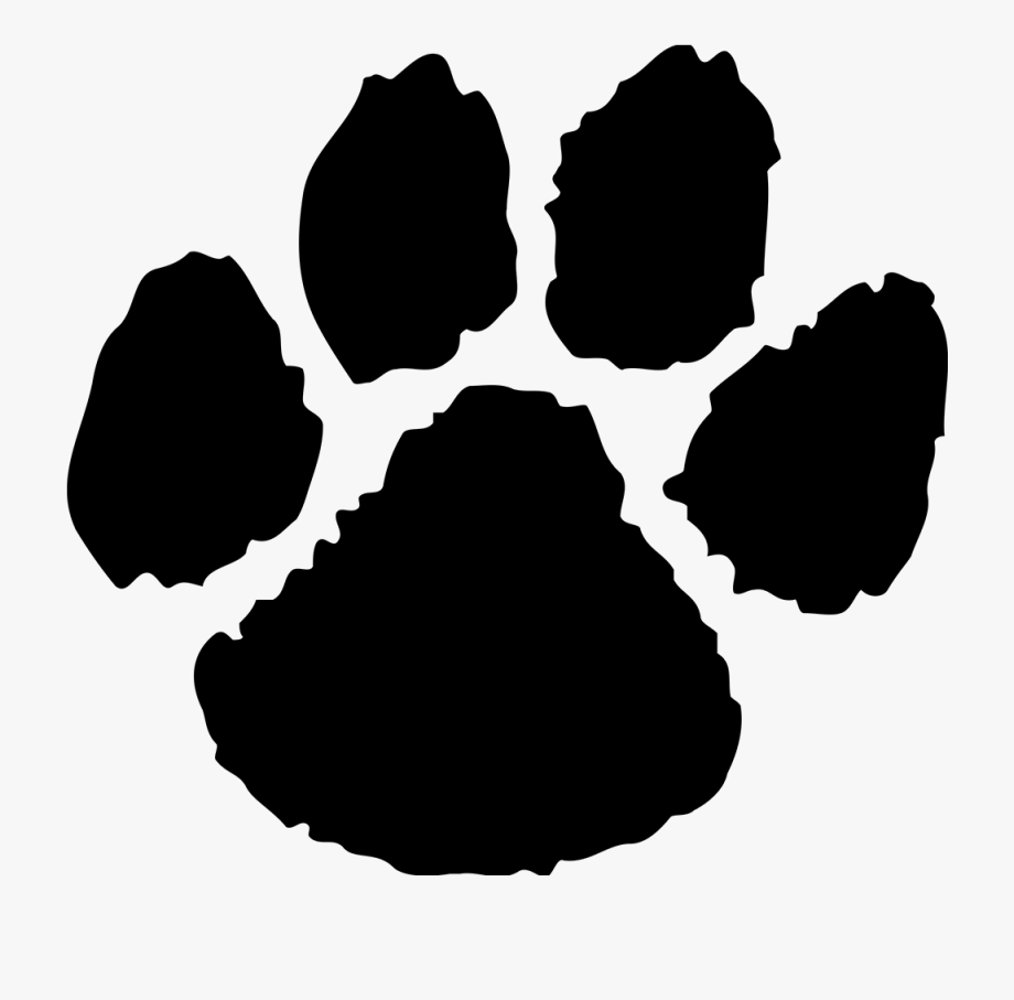 Paws clipart panther. Paw free cliparts on