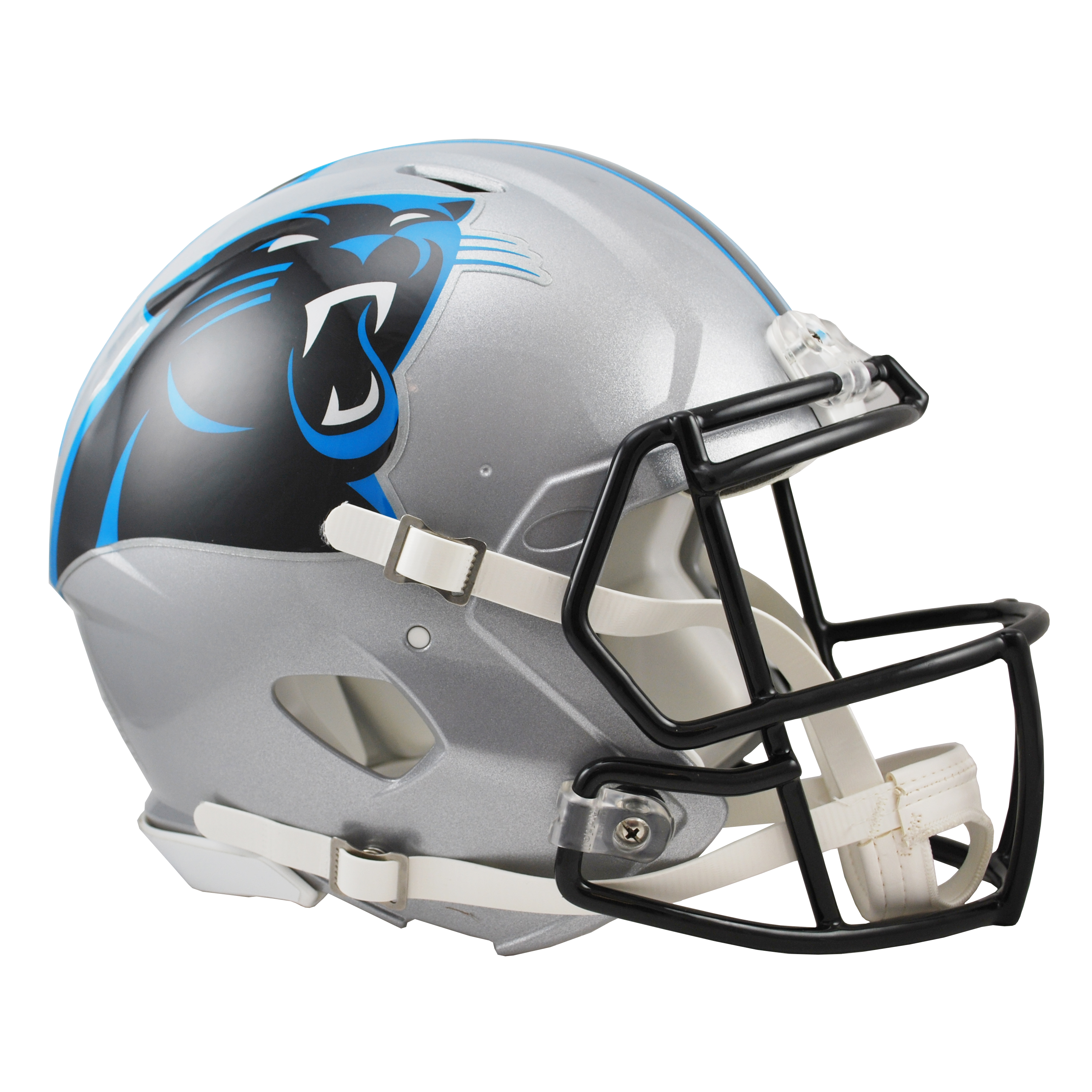 Panthers helmet png. Carolina revolution speed authentic