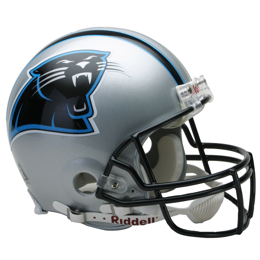 Carolina to authentic full. Panthers helmet png