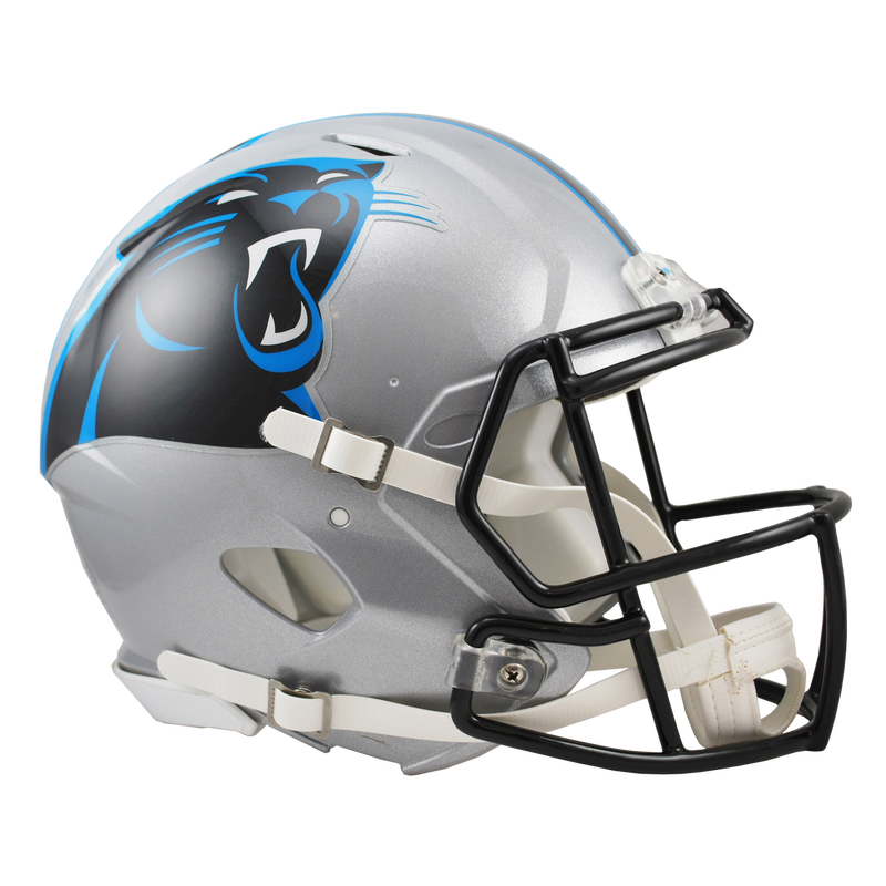 Authentic full size carolina. Panthers helmet png