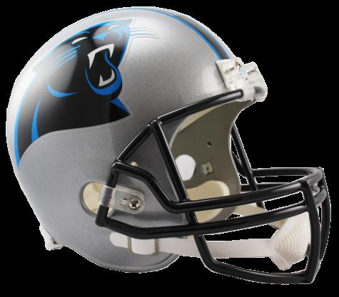 Carolina vsr replica . Panthers helmet png