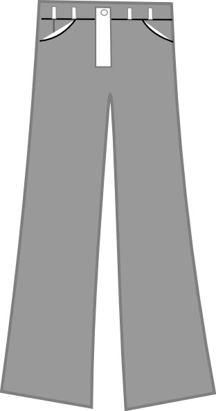 Clip art at clker. Pants clipart