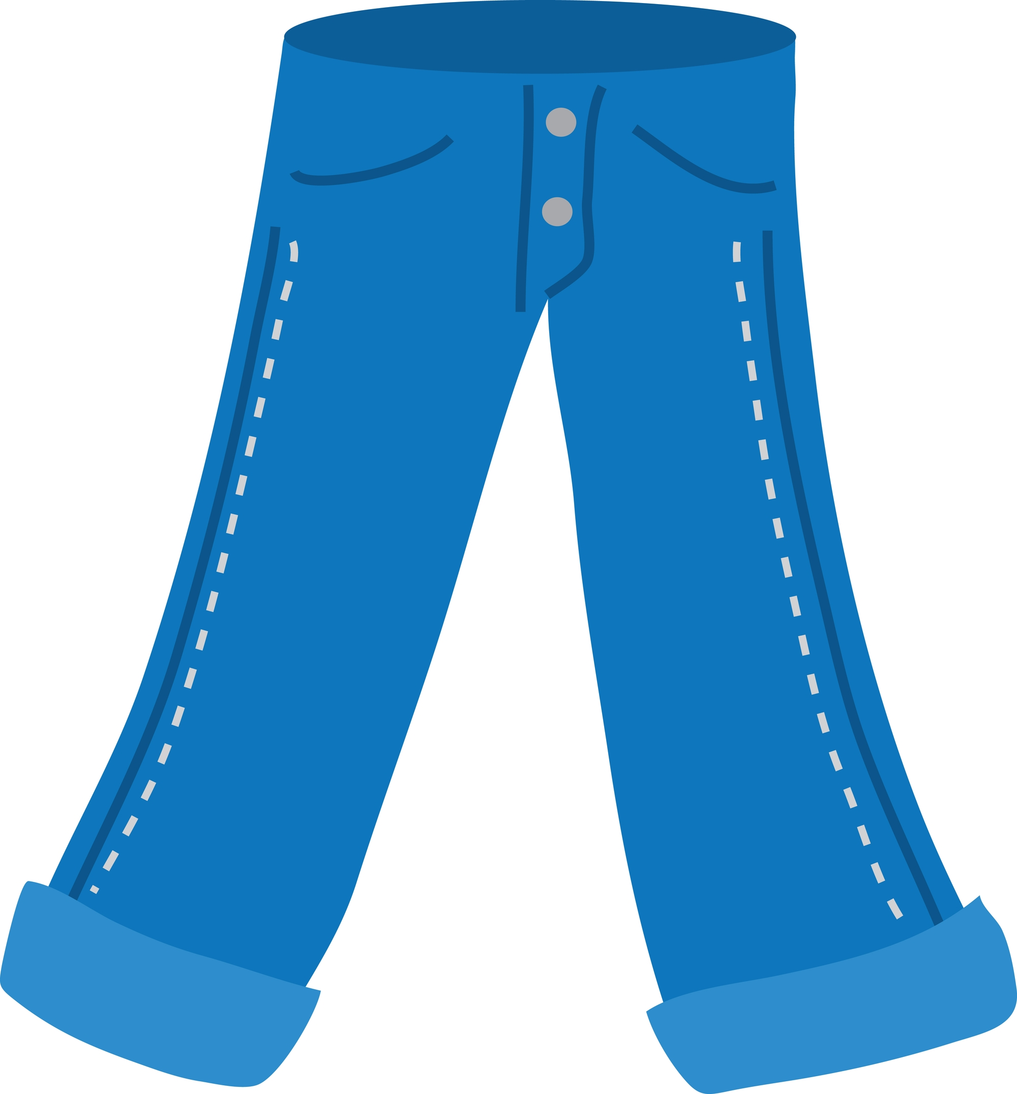 New gallery digital collection. Clipart pants color