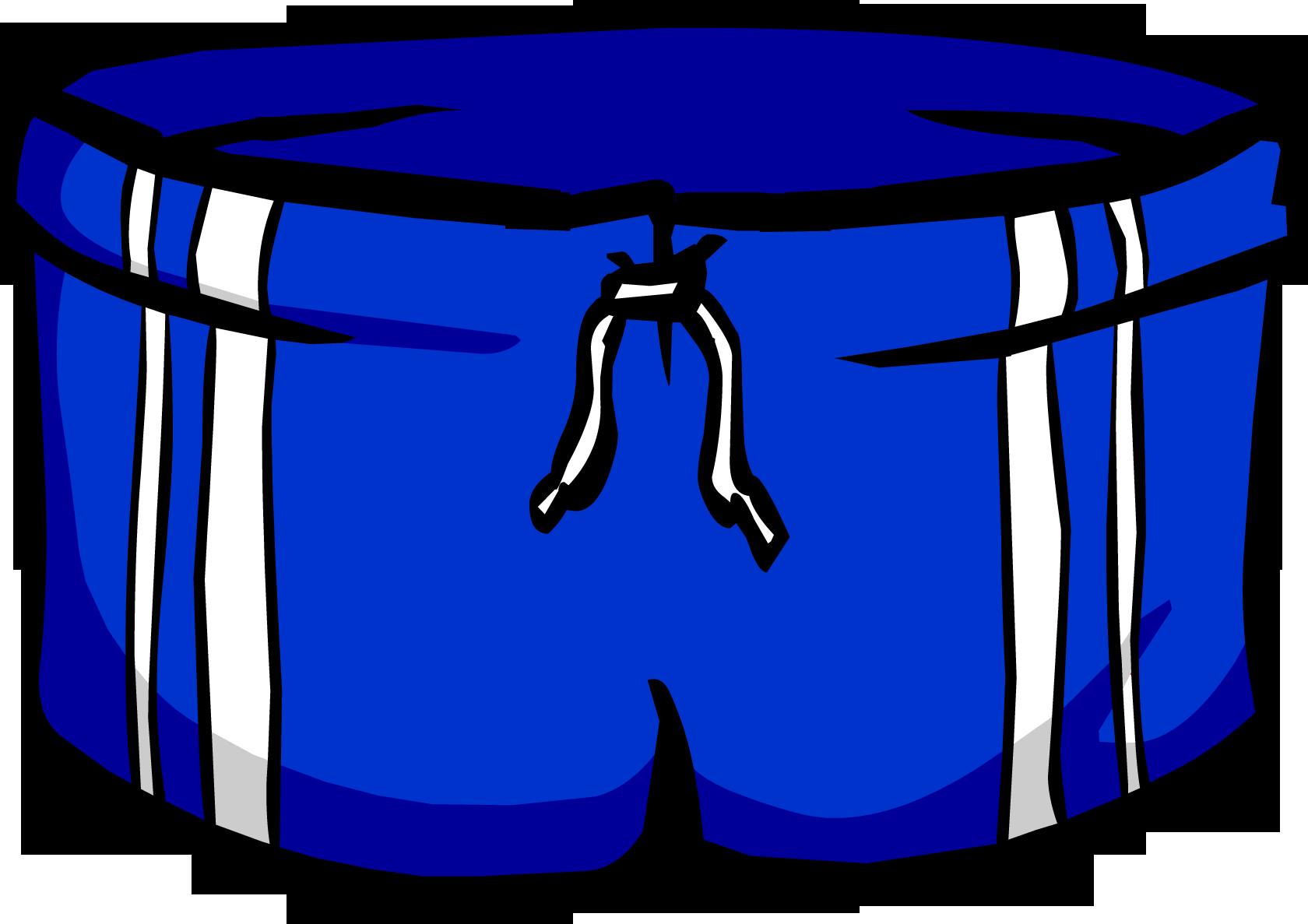swimsuit clipart purple shorts
